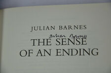 Julian Barnes: The Sense of an Ending HB SIGNED by AUTHOR Man Booker Prize. 2011