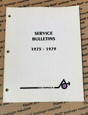 Arctic Cat Snowmobile Service Bulletins Manual 1975-1979, 0185-193
