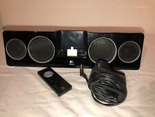 Logitech Pure-Fi Anywhere 2 rechargeable stereo iPod dock speaker with 3.5mm aux