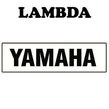 Swing Arm Sticker Decal for Yamaha YZ Models 2 Pack