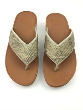 FitFlop Ritzy Sandals Gold Mix Size 7