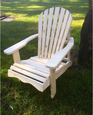 Adirondack-Chair, Deckchair, Garden chair, Deckchair, Softwood natural