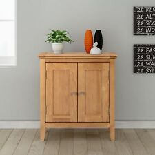 Hereford HRE-CUP650 Hereford Small Storage Cabinet - Light Oak
