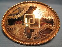 VINTAGE ROCKMOUNT Denver Colorado Hand Made & Engraved  BELT BUCKLE