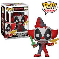 Deadpool Clown Funko Pop Vinyl Figure Official Marvel Toy Collectables