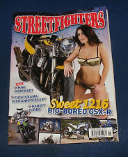STREETFIGHTERS MAGAZINE JANUARY 2012 - SWEET 1216 BIG BORED GSX-R