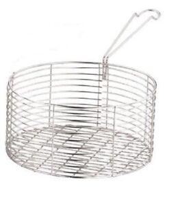 Chip Pan Frying Basket Wire Basket Long Handle Replacement Basket