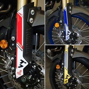 Adesivi 3D Protezione Parasteli compatibile con Yamaha Tenere 700 2019-2022