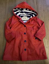 Unisex Hatley Red Raincoat - Size 4 Years