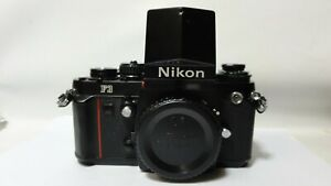 Nikon F3 Black Body w/DA-2 Sprots Finder.Works Great.