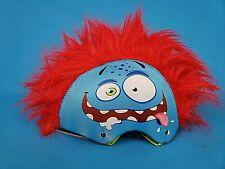 Grrr-Tastic ~ Kids Bicycle Helmet  ~Monster Mohawk  ~ Red Hair ~ Goofy  Age 5+