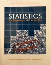 Statistics for Business and Economics by Paul Newbold etc 2nd Edition for NU