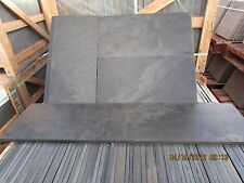 Black Slate Paving✔Patio Slabs Garden✔5m2 600x300mm 15to20mm Thick FREE✔DELIVERY