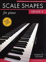 SCALE SHAPES FOR PIANO Grade 5 Stocken Revised
