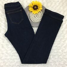 Old Navy Womens Sweetheart Bootcut Jeans Size 00 R - 25x31 Stretch Blue MQ1004