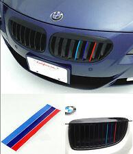 Wholesale 3Color Grille Grill Vinyl Strip Sticker For BMW M3 M5 E36 E46 E60 E90