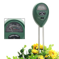 3 in1 Flowers Plant Soil PH Tester Moisture Light Meter hydroponics Analyzer
