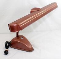 Vintage Art Deco Industrial Adjustable Gooseneck Desk Lamp