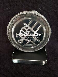 New Hellboy Movie Coasters by Dark Horse Set of 4 in Sealed Tin