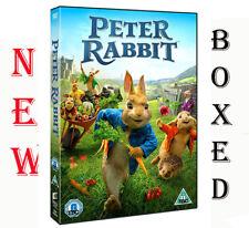 Peter Rabbit DVD Movie 2018 Region 2 Brand New Fast & Free Postage