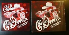 "CHARLIE DANIELS-AUTOGRAPHED ""CHRISTMAS CLASSICS"" NEW SEALED CD & SIGNED POSTCARD"