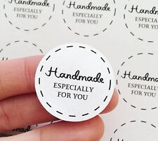30 Handmade Especially For You Stickers Round Matte Sheets Labels Packaging AC23