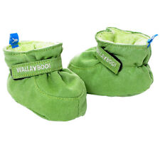 Wallaboo Baby Shoes Soft Newborn Ragazzi Neonati PELO 0-6 MESI SCAMOSCIATO BOOTIES GREEN