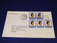 "New Zealand, Scot# 648 ""Queen Elizabeth II""  Stamped envelope from 1978- AIRMAIL"