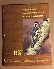 1967 Wildlife Conservation Stamp Album Booklet