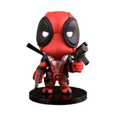 5'' X-Man Deadpool Action Figure Q Version Car Accessories Comic Book Hero Toy