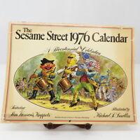 Sesame Street Jim Henson 1976 Bicentennial Calendar Illustrator Michael Smollin
