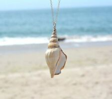 Ocean winds Chain Necklace conch Shell Pendant necklace For Women Natural Gift