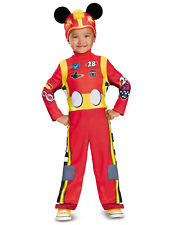 Disney Mickey Mouse Roadster Racers Classic Toddler Boy Costume-S