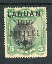 Labuan QV 1896 Jubilee 5c  SG86 MNG