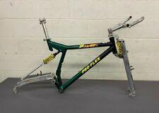 "Vintage 1996 Pro Flex Beast GLS 18"" Aluminum Mountain Bike Frame Girvin Shocks"