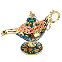 Aladdin Lamp Magic Lamp Retro Creative Censer Panto Genie Oil Lamp Zinc Alloy