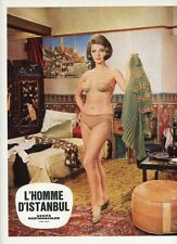 SEXY  SYLVA KOSCINA ESTAMBOUL 65 1965 VINTAGE LOBBY CARD #5