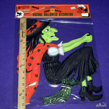 RADKO HALLOWEEN LOT 1 DOZEN 12 BULK Witch RETRO VINTAGE INSPIRED NIP VALUE