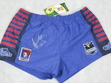 ANDREW JOHNS Hand Signed Newcastle Football Shorts