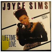 "JOYCE SIMS ""LIFETIME LOVE"" - 12"" MAXI SINGLE"