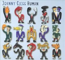 Human; Johnny Clegg 2010 CD, South African, Zulu, Juluka, Savuka, Appleseed Reco