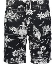 Ralph Lauren Polo Straight Fit Men's Maritime Shorts Midnight Luau Print 32 In.