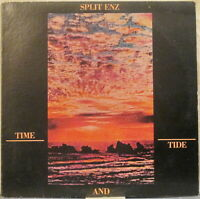 SPLIT ENZ Time and Tide LP – on A&M (USA, 1982)