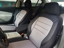 Sitzbezüge Schonbezüge für Seat Exeo schwarz-grau V759684 Vordersitze