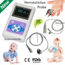 Ce Neonatal Infant Pediatric Kids Born Pulse Oximeter Spo2 Monitor Pc Sw Contec