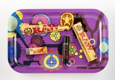 Bundle Deal 8+ Items Rolling Tray Raw Rolling Paper Pre-Rolled Cones Tip Clipper