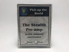 NEW Pick Up The World PUTW Stealth Mono Pre-Amp