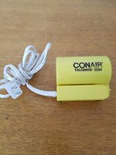 Conair Vagabond 1250 Electric Hair Dryer - Travel Hair Blower 125/250V (Yellow)