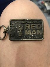 1988 Red Man Chewing Tobacco Key Chain-new in package