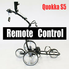2019 NEW Quokka S5 Lithium battery remote control electric motorized golf buggy